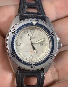 1983 Seiko Diver's 150M Quartz Small 33.5mm Vintage Watch (2625-0170)