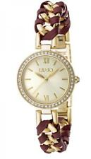 Orologio Donna LIU JO Luxury NAIRA TLJ1113 Bracciale Acciaio Gold Swarovski