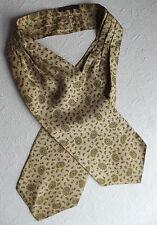 VINTAGE 1950s Sammy giorno foulard da collo classico inglese epoca MOD Neckwear Paisley