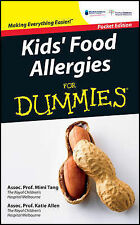 Kids' Food Allergies For Dummies Pocket Edition Book Brand New Australian