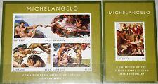 GRENADA 2012 500th Ann Michelangelo Sistine Chapel Paintings Gemälde Kunst MNH