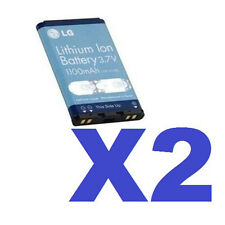 2 FOR 1 LG OEM LGIP-A1100E Battery for AX390 AX3200 AX4270 AX4750 AX5000 LX225