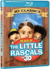 Best of The Little Rascals in 3D Classics Blu-ray Restored and Color NEW SEALED