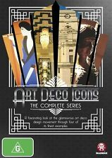 Art Deco Icons: The Complete Series  NEW R4 DVD