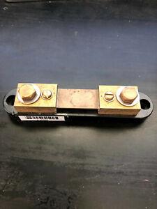 Deltec WB Series DC Ammeter Shunt, 100 amp 50 mV