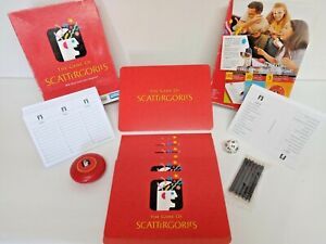 Scattergories with more cards and categories Parker Brothers 2009 Complete
