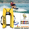 🔥Automatic Inflation Manual Inflatable Life Jacket 150N PFD Survival Vest Adult