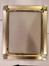 """Silver Metal 8"""" x 10"""" Picture Frame  (S22)"""
