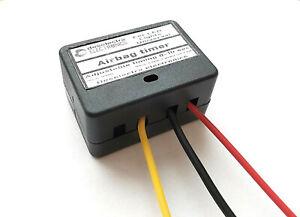 LED CAR SRS AIRBAG ABS EPS LIGHT TIMER SWITCH 1 TO 10 SEC KIT Delay Off 12V BOX