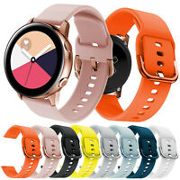 Sport Silicone Band For Samsung Galaxy Watch Active 2 42mm Gear S2 Classic Strap