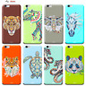 Custodia Cover Design Animali Per Apple iPhone 4 4s 5 5s 5c 6 6s 7 Plus SE