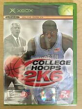 College Hoops 2K6 Microsoft Xbox 2005 Brand New Factory Sealed Video Game