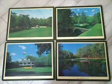 Vintage Augusta National Golf Club Placemats Oversize Set of 4. 40cm X 30cm