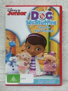 DOC MCSTUFFINS DVD TIME FOR YOUR CHECKUP CHILDRENS DVD