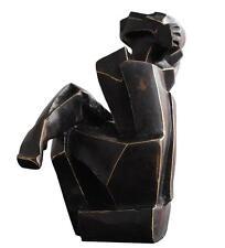Sculpture cubiste  en bronze