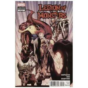 Legion of Monsters (2011 series) #2 in NM + condition. Marvel comics [*l0]