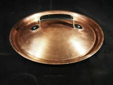 """8"""" Copper Clad Tin Saucepan Lid with Stainless Steel Handle"""