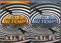 AU COEUR DU TEMPS .......... L'INTEGRALE DE LA SERIE TV  .. VOLUME 1 + VOLUME 2