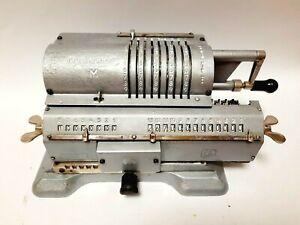 Vintage USSR  Arithmometer Mechanical Calculator Felix M. Adding Machine Soviet