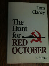The Hunt for Red October Tom Clancy True first edition- see photos and descript
