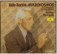 Bartok: Mikrokosmos / Homero Francesch - LP Deutsche Grammophon