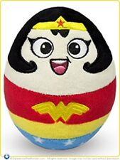 Officially Licensed Wonder Woman DC Super Heroes Egg Plush Toy Stuffed Doll