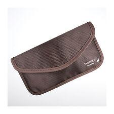 Protección radiológica funda, todos los teléfonos móviles RFID bolso abschirm universal protección XXL marrón