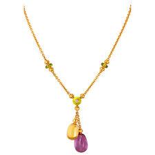 Bvlgari Sassi 18K Yellow Gold Necklace 346331