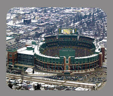 Item#2677 Lambeau Field Fly Over Green Bay Packers Mouse Pad