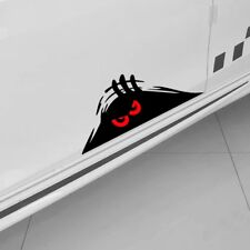 1x Cartoon Fashion Monster Red Eyes Peeper Funny Car Sticker Bumper Window Decal