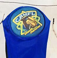 Vintage 1990s Camel Cigarettes Tobacco Beer Bag Sleeve Cooler Joe Camel Blue