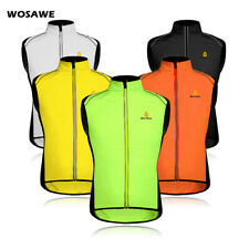 Mens Cycling Gilet Bicycle Outdoor Sports Wind Vest MTB Sleeveless Tops Summer