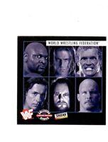 WWF 1997 Pay Per View Calendar Card Bret Hart Undertaker Austin HBK Sid WWE