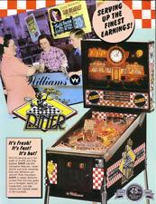 Diner Pinball - CPU Rom Set L-4 [U26, U27] [Williams] EPROM