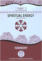 3 boîtes d'encens Goloka Spiritual Energy 15g