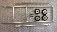 Aluminium Rear Rack for Brompton bike ( Third Party ) IN SILVER--FREE UK DELIVER