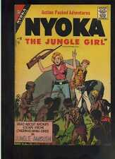 Nyoka Jungle Girl # 20 Fine+ Charlton May 1957 CBX1G