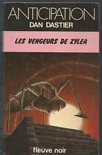 Les Vengeurs de Zylea.Dan DASTIER.Anticipation 839  SF48A