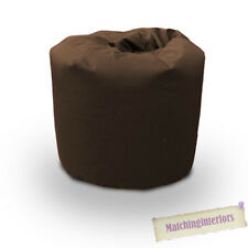 Brown Cotton Bean Bag Children's Kids Beanbag Seat Play Room Furniture Chair