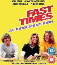 Fast Times at Ridgemont High DVD (2017) Sean Penn, Heckerling (DIR) cert 18