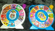 2 Vintage Mattel Disney See 'N Say ..Color Pals &  The Farmers Says 1989