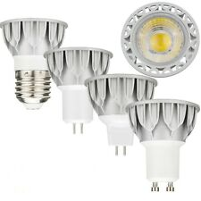 E27 GU10 GU5.3 MR16 10W LED Dimmable SpotLight COB-K Bulb High Power Lamp