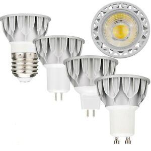E27 GU10 GU5.3 MR16 10W LED 220V Dimmable SpotLight COB-K Bulb High Power Lamp