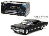 1/24 Greenlight Supernatural 1967 Chevrolet Impala Sports Sedan Model 84032 BK