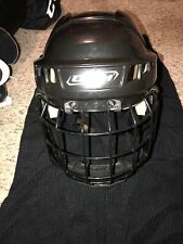 New listing Ccm 05 Used Large Black Hockey Helmet W/ Face Guard & Elbow pads