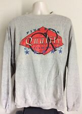 Vtg 1992 OP Ocean Pacific Sweatshirt Heather Gray L/XL 90s Surf Brand