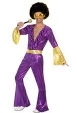 Déguisement Homme Disco Violet XS/S Costume Adulte Année 1980