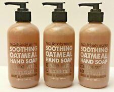 3 Bath & Body Works Milk & Cinnamon Gentle Exfoliating Hand Soap Almond Milk New