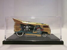 HOT WHEELS LIBERTY PROMOTIONS GOLD PIRATES CARIBBEAN DRAG BUS REBEL RUN 166/200