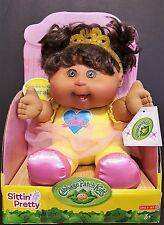 Cabbage Patch Kids Sittin' Pretty African American Doll With Tiara